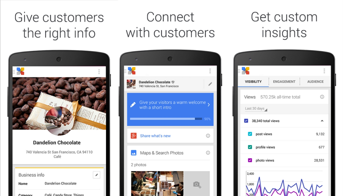 New My Google Business pack
